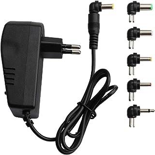 Funadd Light Accessories Voltage Adjustable Universal Power Adapter 110 220V to 12V 3V 4.5V 6V 7.5V 9V AC DC Adapter 3A Ma...