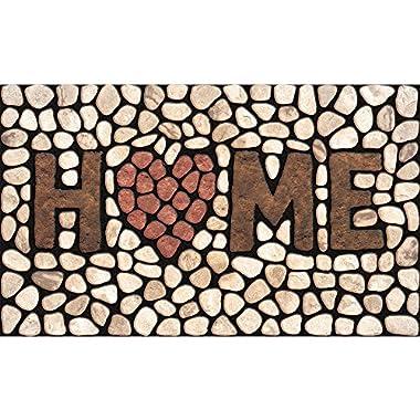 Masterpiece Home Stones Door Mat, 18-Inch by 30-Inch
