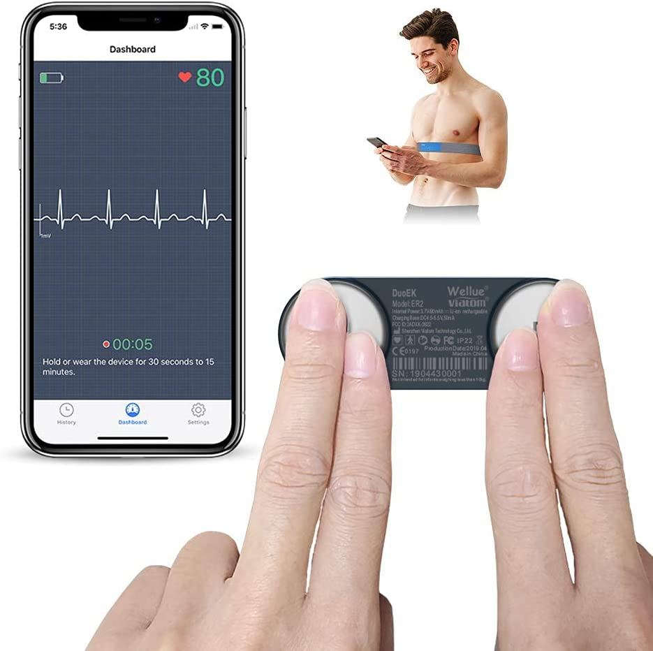 Wellue Wearable Chest Strap Heart Monitor $53.40 Coupon
