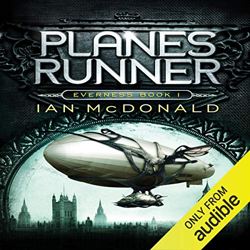 Planesrunner audiobook cover art
