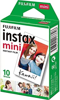 Fujifilm Instax Mini Brillo - Película fotográfica instantánea (10 hojas)