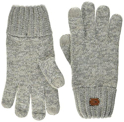 camel active Herren 408301/6G30 Handschuhe, Grau-Beige/Dunkel 4, Medium