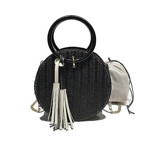 0782e4268f UNYU Straw Hand-woven Handbags