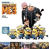 2018 Despicable Me 3 Movie Wall Calendar
