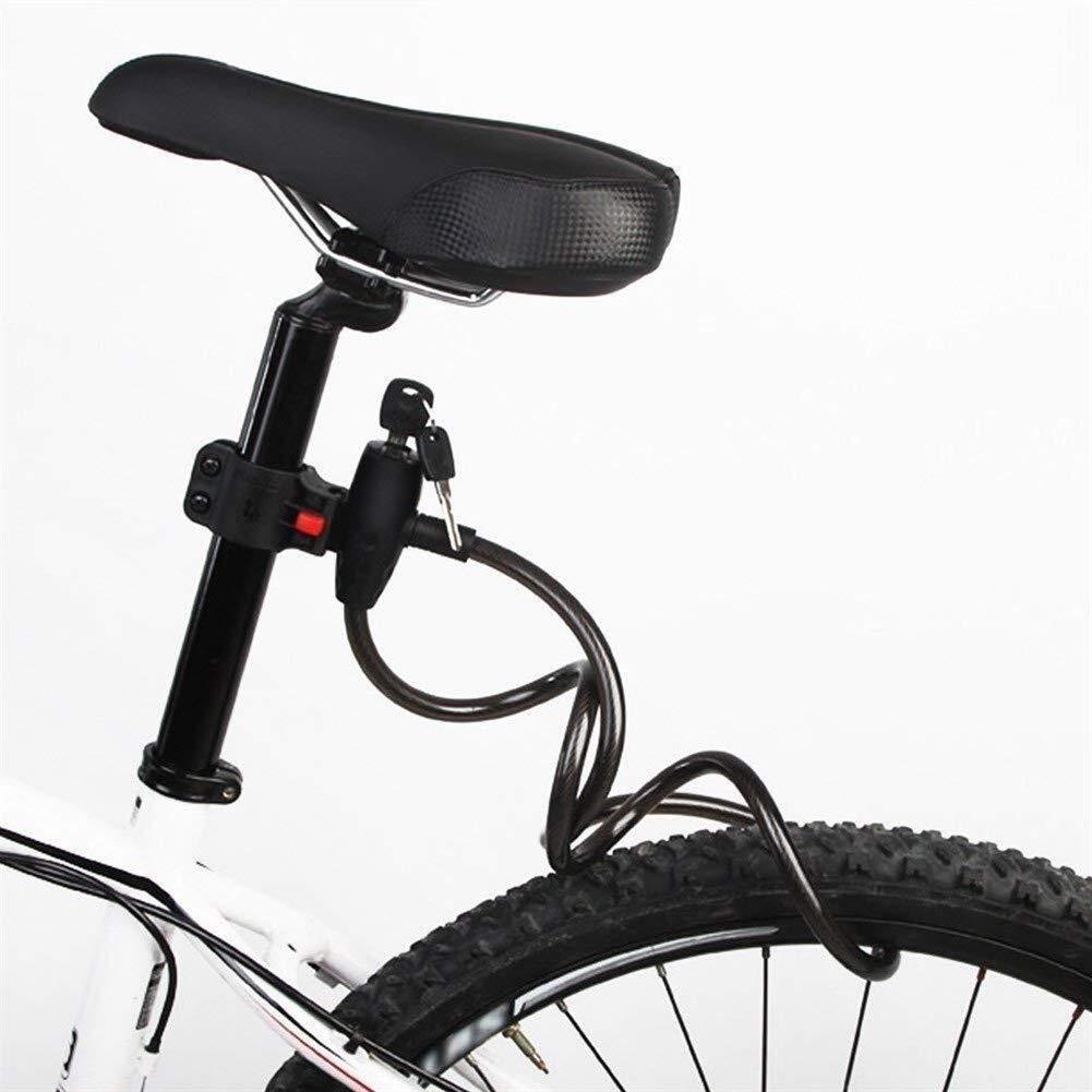 Wuyeti Cable de Acero Barra de Bloqueo de Bicicleta de montaña ...