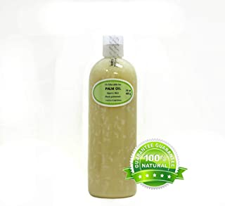 16 Oz Premium Palm Oil Pure Cold Pressed Organic