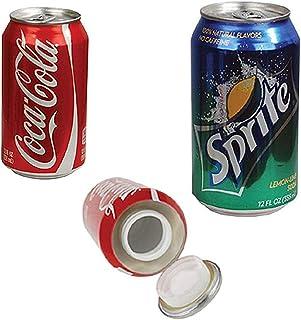 本物の缶で作られた(セーフティーボックス・隠し金庫) -セーフ缶・隠し金庫- 大切な物を隠すのにオススメなアイテム(スプライト・コカコーラよりお選び下さい) (コカコーラ)