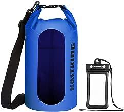 KastKing Dry Bags, 100% Waterproof Storage Bags, Military Grade Construction for Swimming, Kayaking, Boating, Hiking, Camping, Fishing, Biking, Skiing.
