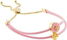 Enamel Logo Slider Bracelet