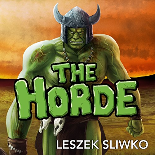 The Horde audiobook cover art