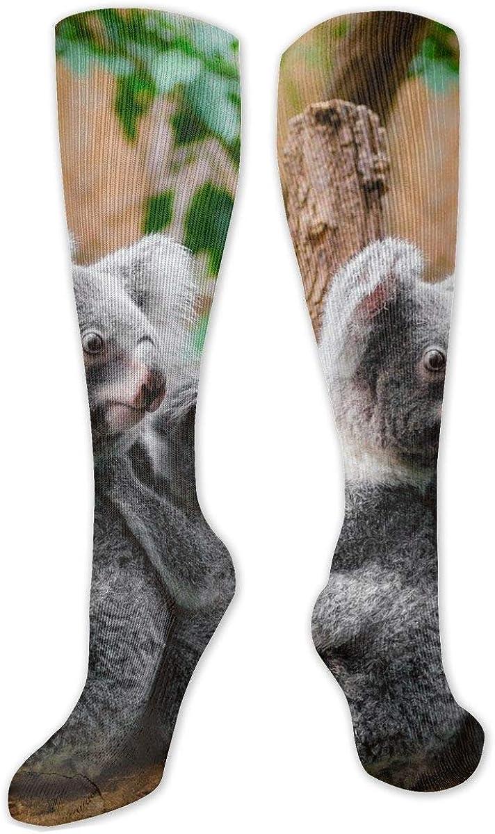 Koala Knee High Socks Leg Warmer Dresses Long Boot Stockings For Womens Cosplay Daily Wear