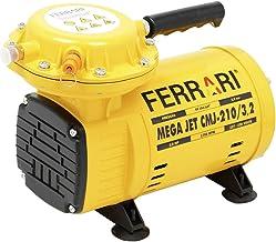Compressor De Ar Diretomega Jet Cmj-210 Ferrari Amarelo