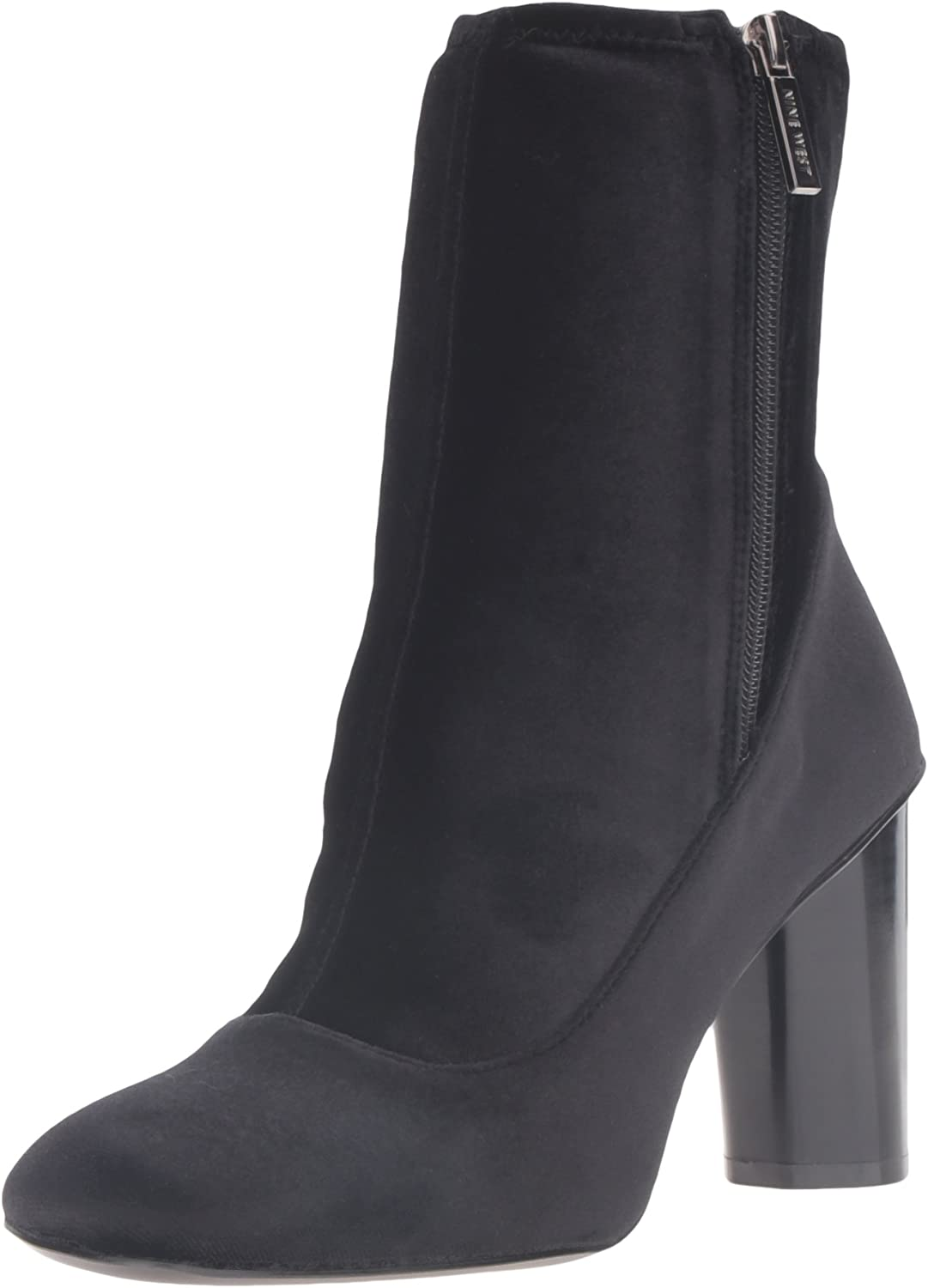 Nine West Womens Valetta Fabric Ankle Bootie