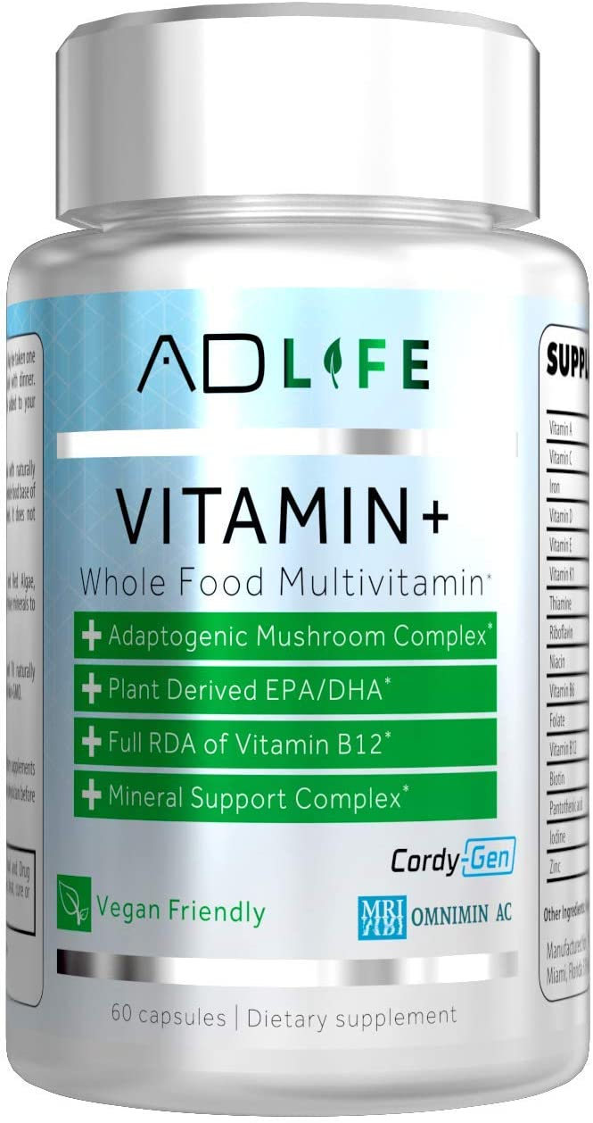 Project 販売実績No.1 通常便なら送料無料 AD Vitamin+ Food Whole Multivitamin