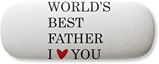 Love You Best Father Dad Festival Quote Gl Case Eyegl Hard Shell Storage Spectacle Box