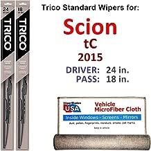 Best 2015 scion tc wiper blade size Reviews