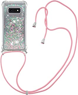 Cover in silicone TPU per Samsung Galaxy S10e (stelle rose)
