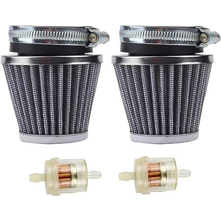 HIAORS 54mm Air Pod Intake Filters Cleaner Kit for Yamaha Honda Cb750 900 Kawasaki Kz1000 Suzuki Gs1100 Parts