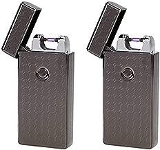 Saberlight 2 Pack - Rechargeable Flameless Plasma Beam Lighter - Electric Lighter - Plasma Lighter - Rechargeable - no Butane - splashproof - Windproof