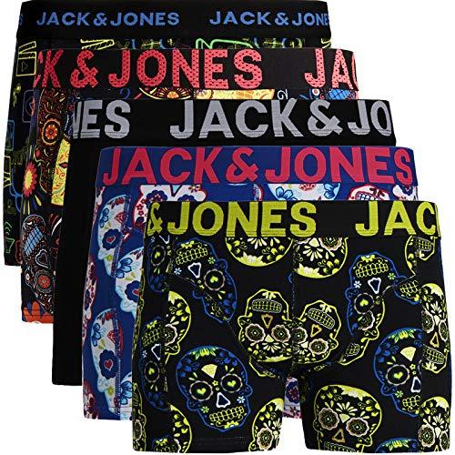 JACK & JONES Trunks 4er Pack Boxershorts Boxer Short Unterhose S M L XL XXL NEU (XXL, 12) (L, 5er Pack Bunt 13 ohne Wäschesack)