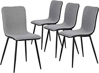 dining chairs with black metal legs