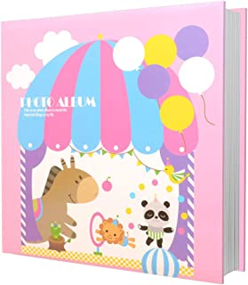 Baby Books Memory Photo Album and Baby Journal - Baby Books First Year Memory Book - A Baby Memory Book Of Firsts Can Hold...