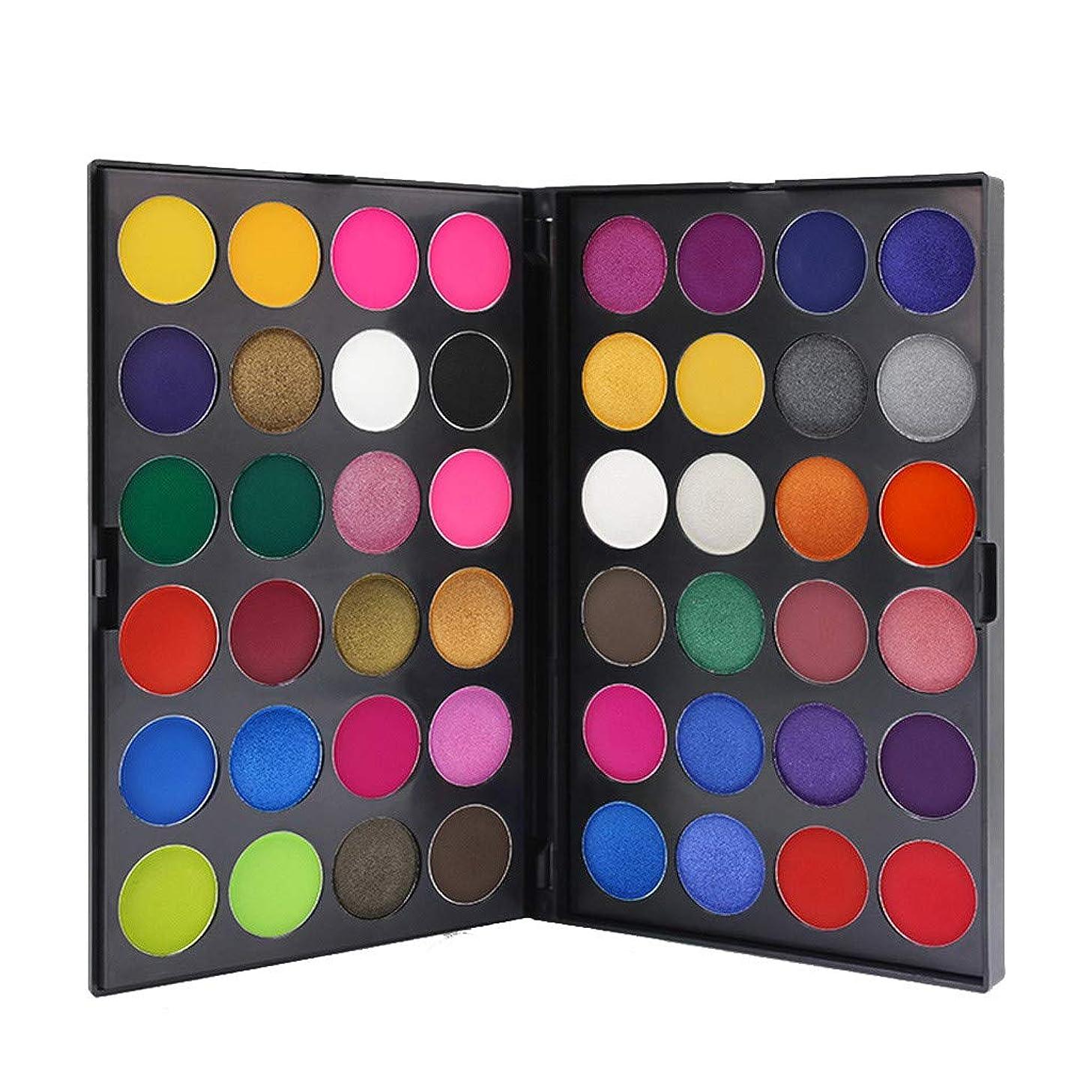 韻ドア強盗48色のきらめきのきらめきのアイシャドウの粉のマットのアイシャドウの化粧品の構造