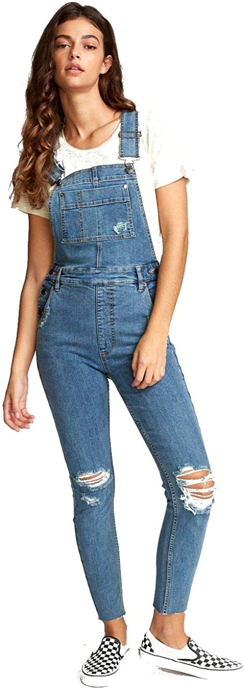 RVCA womens Popular shop Super beauty product restock quality top! is the lowest price challenge Foss Denim Overall