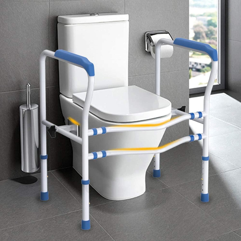 老人ホームトイレ手すりトイレシート固定具付きバスルームの安全バリアフリー手すり障害防止滑り止めブースター