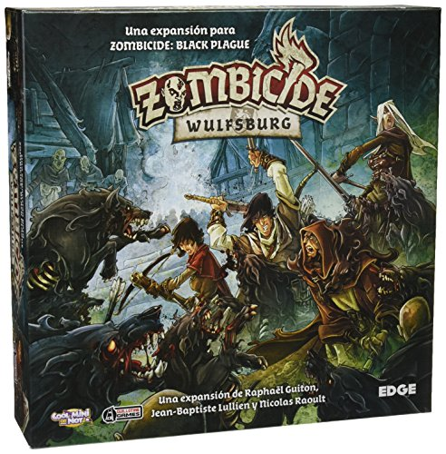 Zombicide - Wulfsburg Brettspiel (Edge Entertainment EDGBP002)