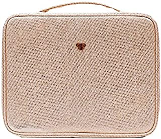 PurseN Diva Makeup Travel Organizer Bag Case Lotus