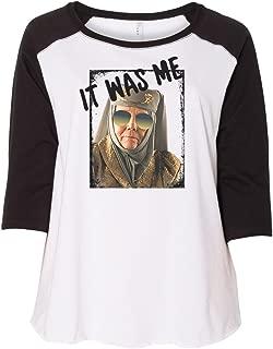 Tell Cersei It was Me Olenna Tyrell Plus Size Womens Raglan Shirt