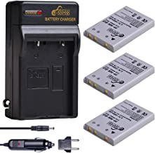 Pickle Power EN-EL5 Replacement Battery (2 Pack) and Charger Kit Compatible with Nikon CoolPix P500, P510, P520, P530, P80...