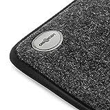 OneConcept Magic-Carpet DX - Heizmatte, Heizteppich, elektrisch, 100 Watt, 3 Heizstufen, Timer Funktion, 60 x 40 cm, geringer Stromverbrauch, strapazierfähig, Bezug waschbar, grau - 6