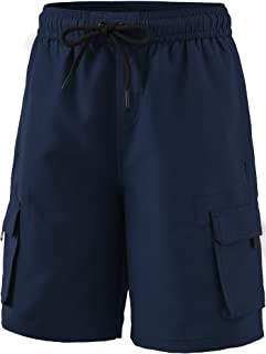 TSLA Boy's Swimtrunks Quick Dry Board Shorts Water Beach Board Shorts Bottom