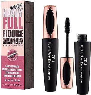 2 Pack 4D Silk Fiber Eyelash Mascara Extension Makeup Black Cold Waterproof Kit Eye Lashes