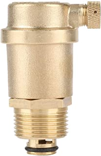 Akozon Air Release Valve, DN20 G3/4 Brass Automatic Air Vent valve for Solar Water Heater Pressure Relief