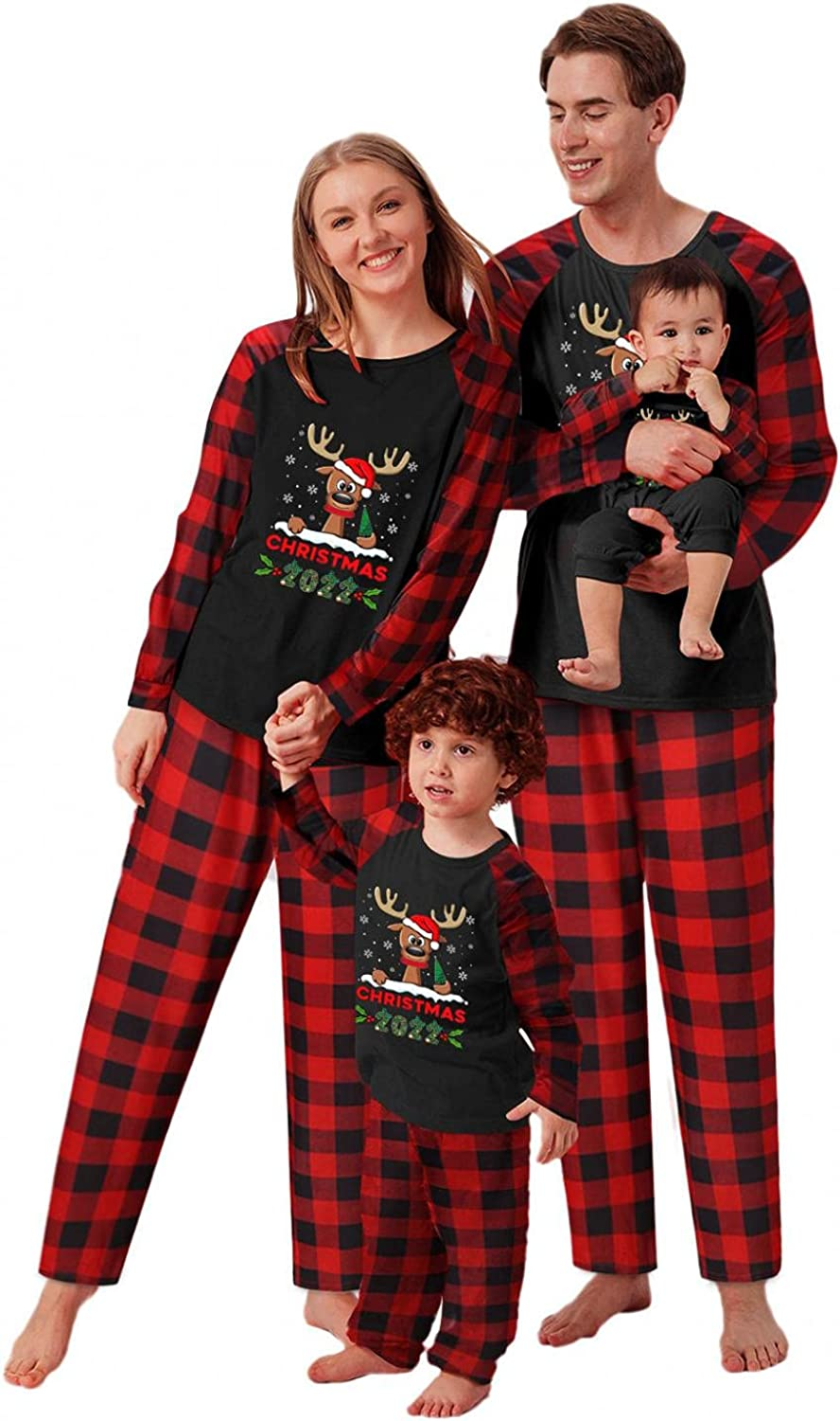 Max 66% OFF Christmas Matching Family Pajamas Set family S OFFicial store for Pjs