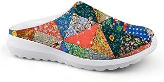 Pantuflas Unisex para Adultos Slip On, Zapatillas de Deporte, Sandalias de Malla para la Playa