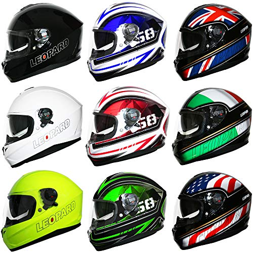 Casco integral de moto scooter EO-813