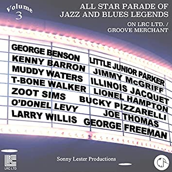 All Star Parade of Jazz and Blues Legends, Vol. 3