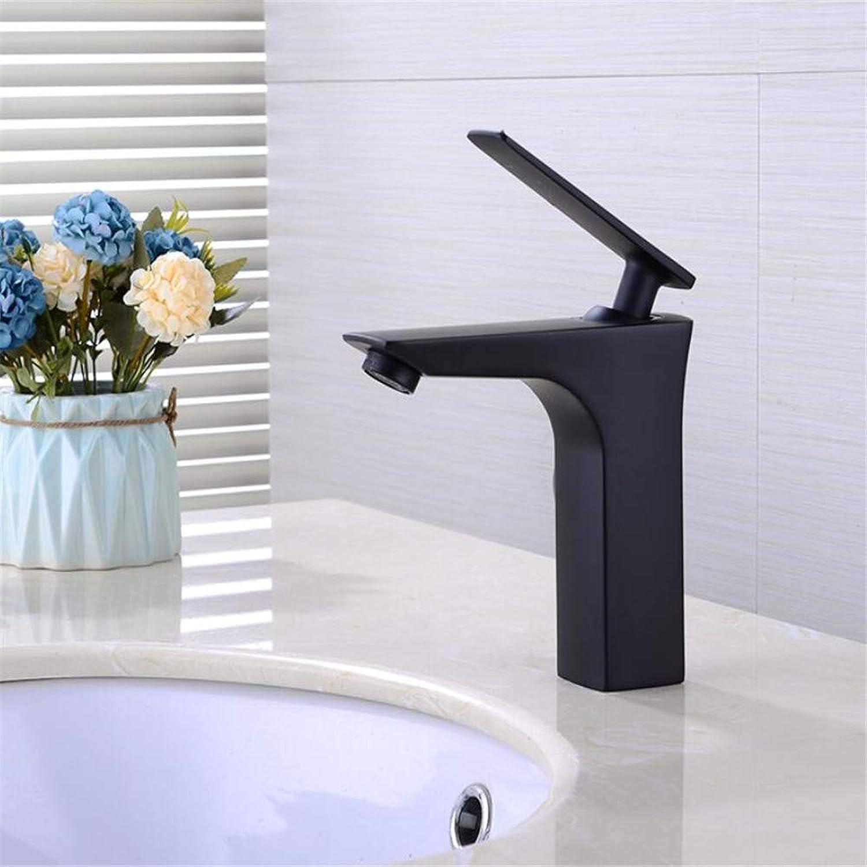 Waschtischarmaturenkupfer Becken Schwarz Wasserhahn Hei Und Kalt Einloch Antik Waschbecken Waschtisch Wasserhahn