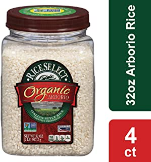 Riceselect Organic Arborio Rice, 32 Ounce (4 Count)