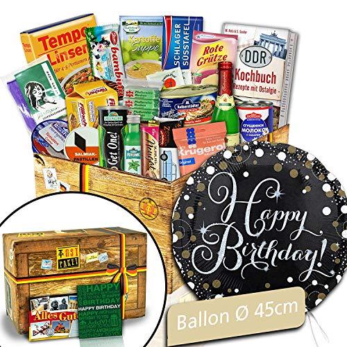 Ostpaket zum Geburtstag / Happy Birthday Folienballon / Geschenk für Oma
