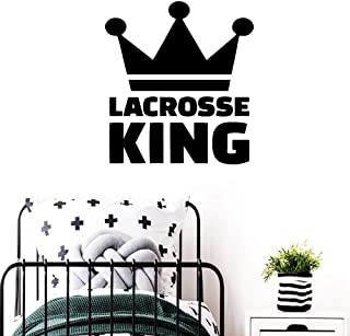 WSYYW Lacrosse Wall Stickers Self-Adhesive Art Wallpaper Children's Room Living Room Home Decoration Decorative Accessories Gray M 28cm X 30cm