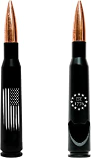 50.Cal American Flag Bullet Bottle Opener – Previously Fired American Flag BMG 50 Caliber Real Shell Casing - American Gifts