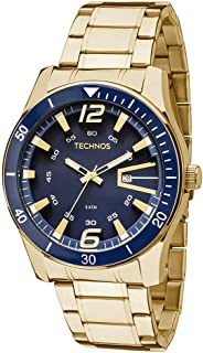 Relógio Technos Masculino Racer Dourado - 2115LAJS/4A
