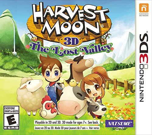 Harvest Moon: The Lost Valley - Nintendo 3DS by Natsume
