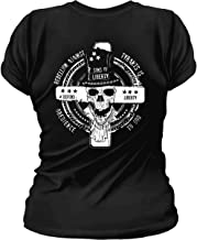 Sons Of Liberty Rebellion Against Tyrants is Obedience to God. Womens T-Shirt