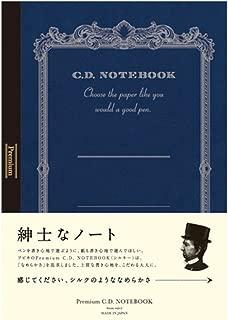Apica Premium C.D. Notebook - A4 - 8 mm Rule - 96 Sheets (Japan Import)
